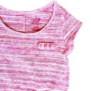 Pink Waffle Tunic Dress